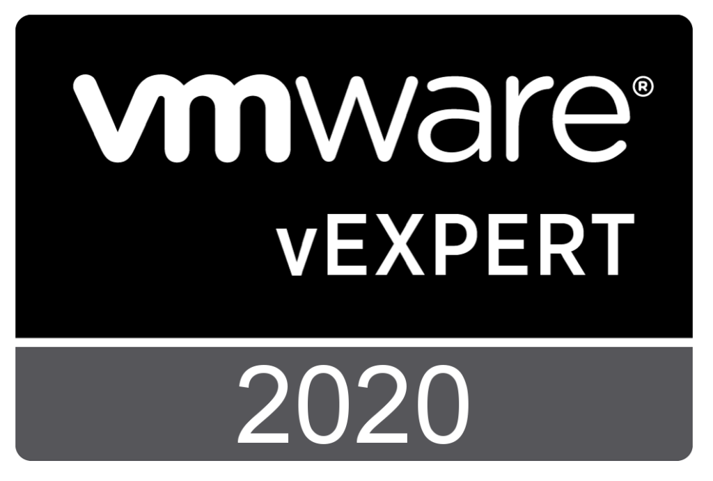 vExpert Badge - year